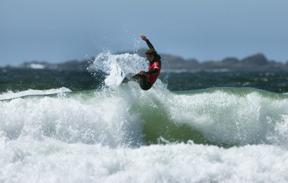 Peter Devries: king of the Tofino waves