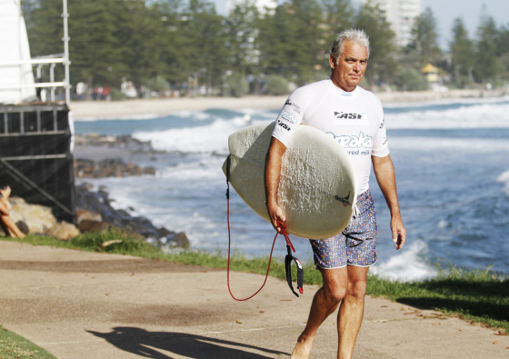 Peter Harris: still surfing after all these 31 years