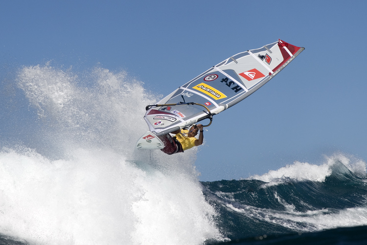 Peter Volwater: a champion in all windsurfing disciplines | Photo: Carter/PWA