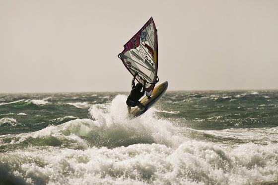 Philip Köster: ready for the 2012 Red Bull Storm Chase