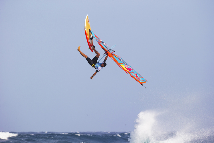 Philip Köster: high and dry | Photo: Carter/PWA