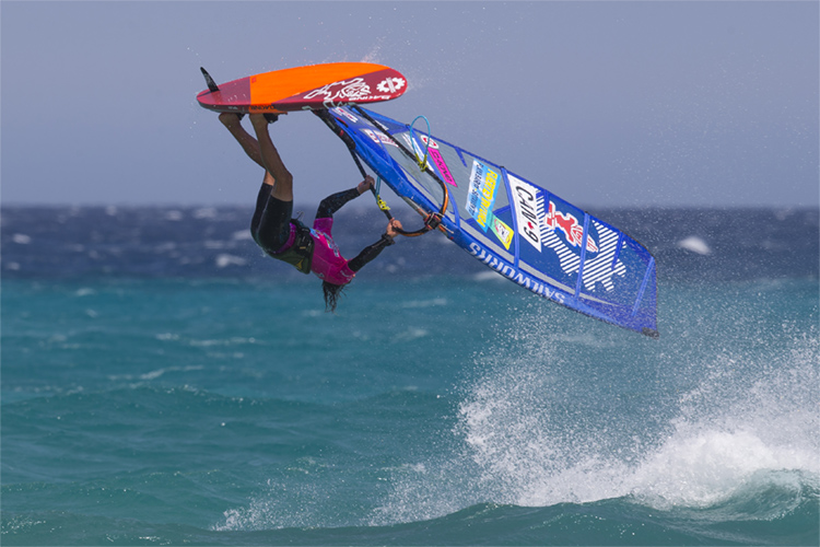Phil Soltysiak: he competed in the PWA World Tour for 12 seasons | Photo: Carter/PWA