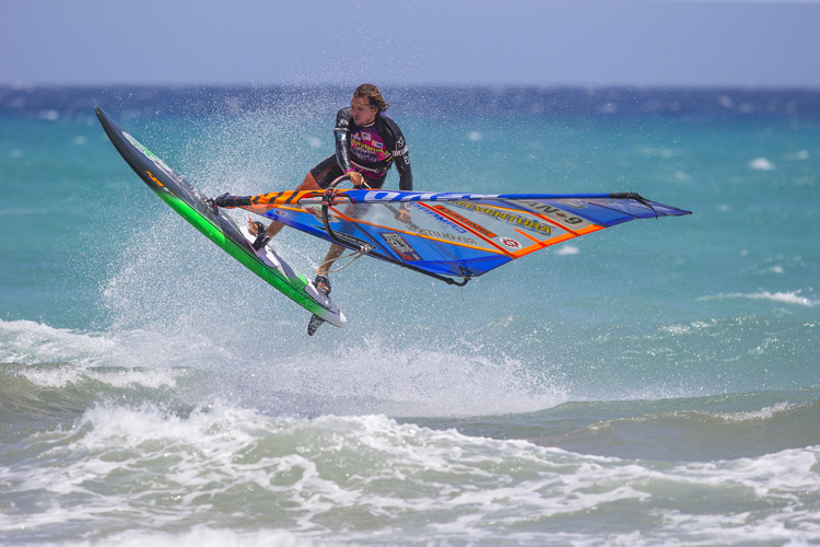 Philip Soltysiak: Canada's windsurfing star | Photo: Carter/PWA