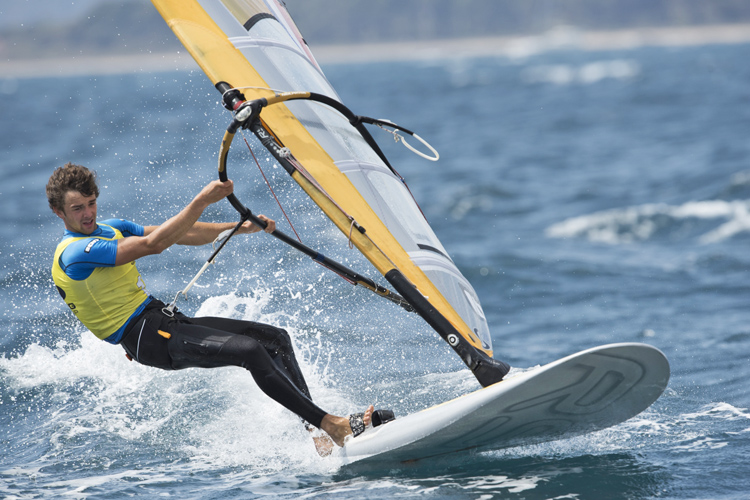 Pierre Le Coq: fast and focused | Photo: Franck Socha/ISAF
