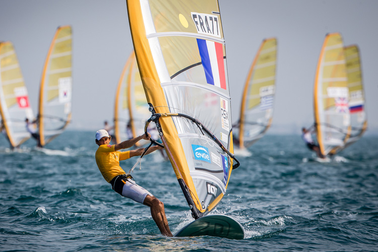 Pierre Le Coq: the 2015 RS:X World Windsurfing champion | Photo: RS:X