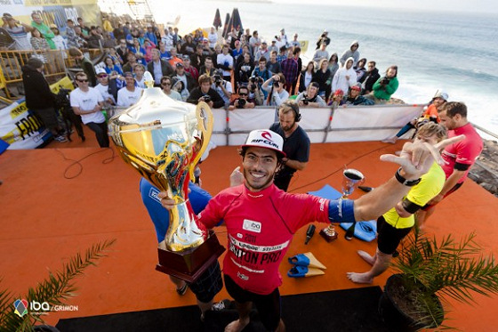 Pierre-Louis Costes: the world bodyboarding champion of the modern era
