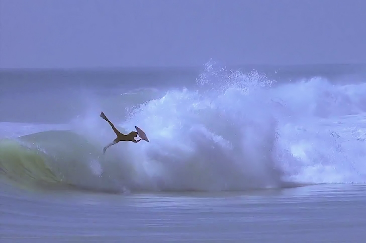 Pierre-Louis Costes: riding 10-second barrels that end like this