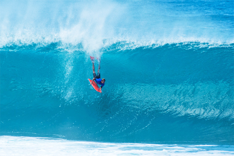 Pipeline: bodyboarding is still alive in the Hawaiian gem | Photo: APB
