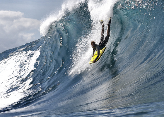Pipeline: vertical wave rides are the future of bodyboarding