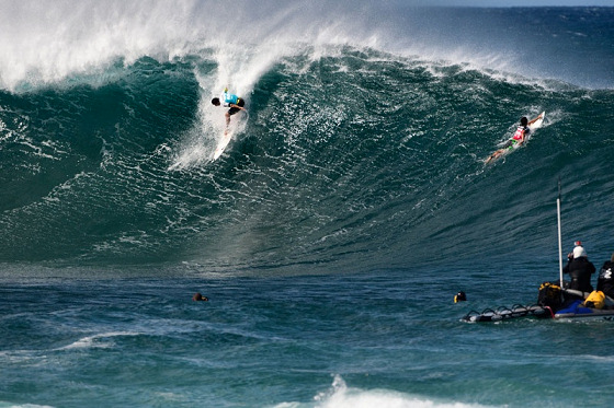 Triple Crown of Surfing: online broadcast is a hit