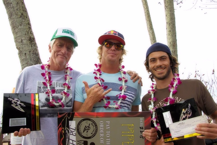 Cunningham, O'Brien and Costes: the 2015 Pipeline Warriors
