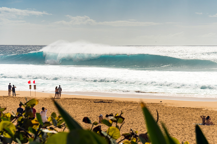 Pipeline: one of the most filmed and photographed wave in the world | Photo: Shutterstock