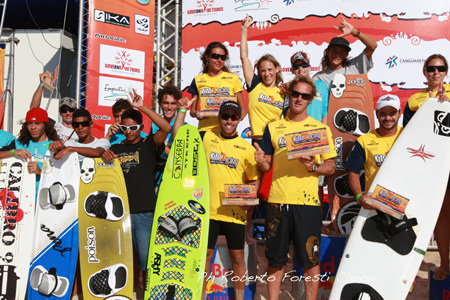Bruno Sroka and Nayara Licariao win the Course Racing of the 2009 PKRA Brazil