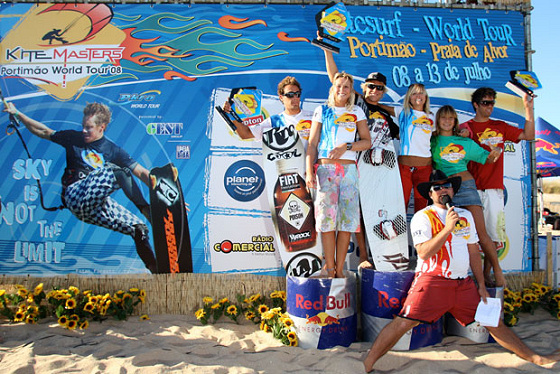 PKRA kiteboarders head to Portimao in Portugal
