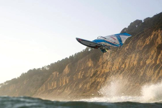 Fabrice Beaux: windsurfing can be shocking