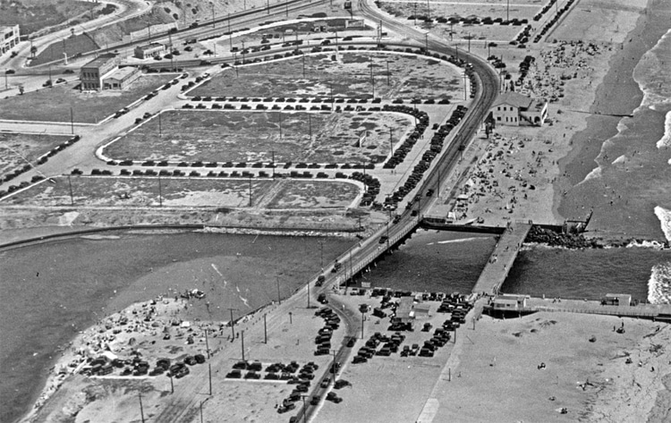 Playa del Rey, 1930: a view over Ballona Creek | Photo: Creative Commons