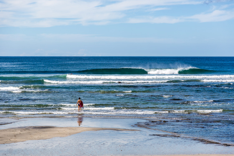 Playa Negra: a surf beach featured in The Endless Summer II | Photo: Shutterstock