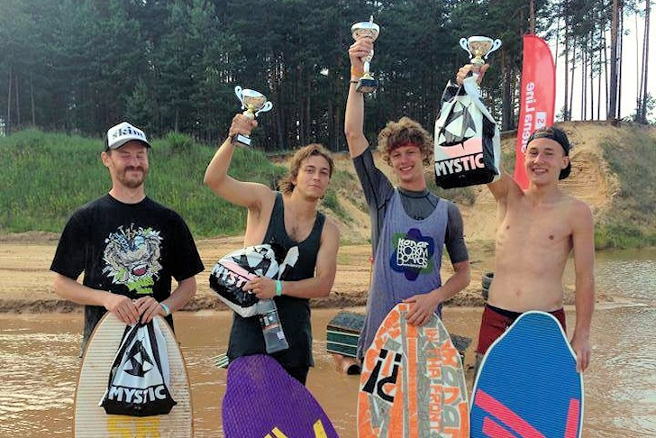 2014 Playground333: Marek Wolkanowski wins | Photo: 2014 European Skimboarding Cup