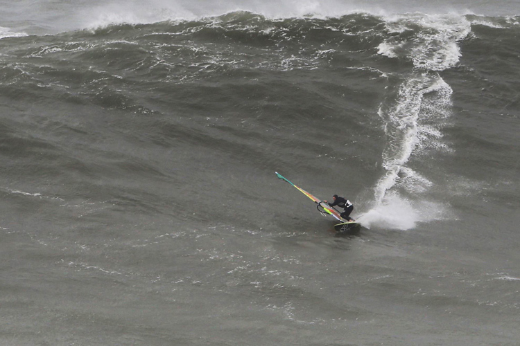 Jason Polakow: he always wanted to ride Nazaré | Photo: Miguel Chaby