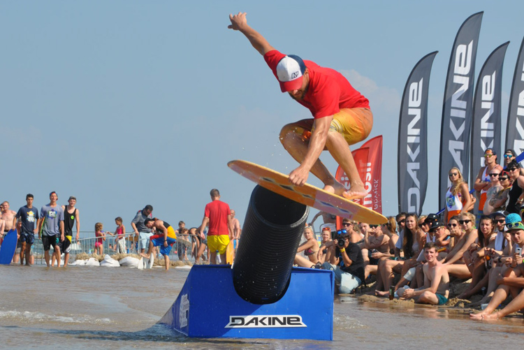 Skimboarding: Europe loves it | Photo: PSO