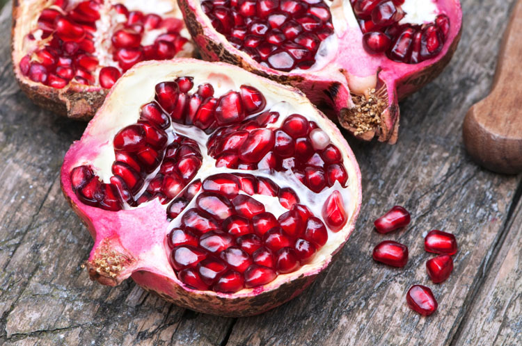 Pomegranates: they enhance blood flow | Photo: Shutterstock