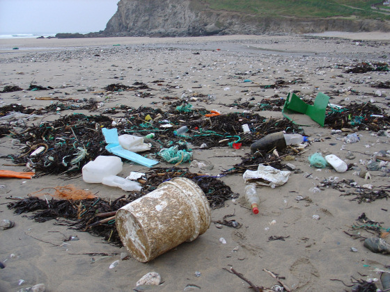 Porthtowan Beach: when humans do not respect places where they get free summer pleasures