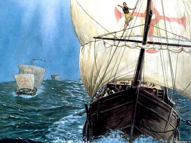 Portuguese caravels: first to touch Australia