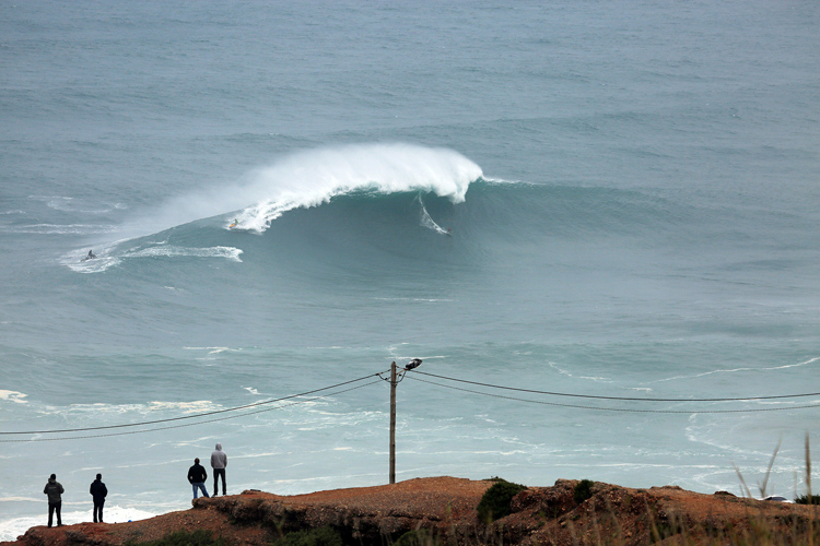 Praia do Norte, Nazaré: the new home of the Perfect Chapter | Photo: Estrelinha/CMN