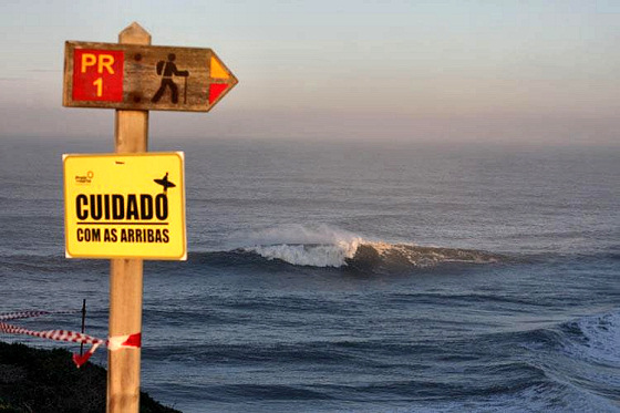 Praia do Norte: Nazaré is always pumping