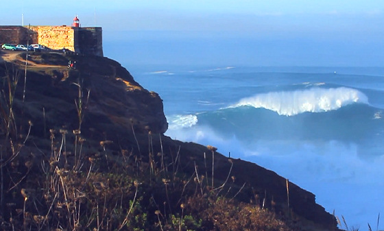 Praia do Norte: Nazaré is waiting for Garrett McNamara