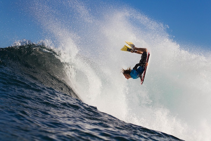Bodyboarding: difficult times for pro riders