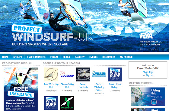 Project Windsurf-UK: a windsurfer in every Brit