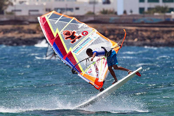 Pro windsurfing: media-friendly pictures