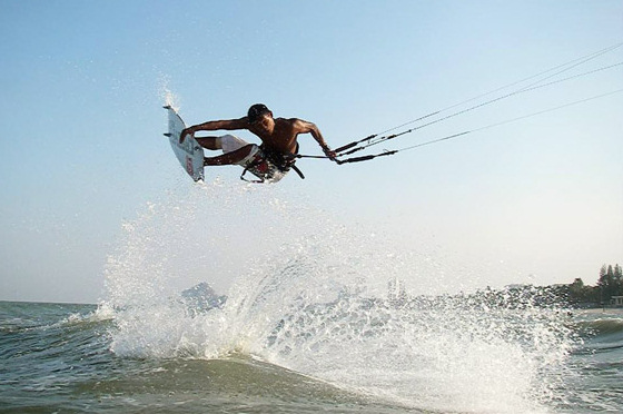 Pudla Narapichit: Thai kiteboarding star