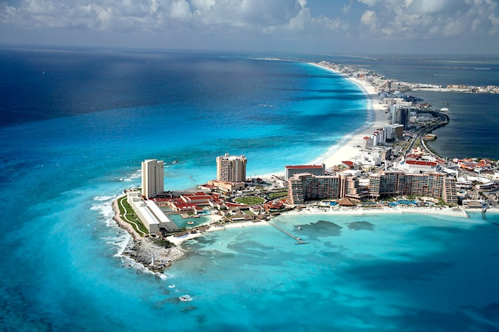 Puerto Cancun: wakeboarders' heaven