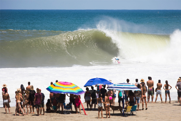 Bianca Valenti: the winning wave ridden at Puerto Escondido | Photo: Edwin Morales