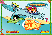 Powerpuff Girls Super Surf