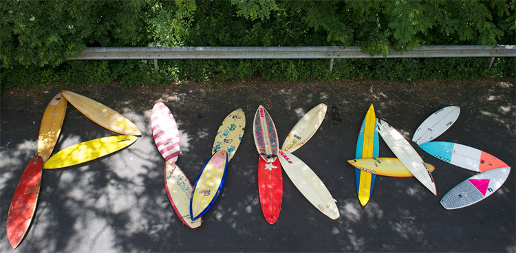 Pukas: surfboards made in the Basque Country and sold worldwide | Photo: Pukas