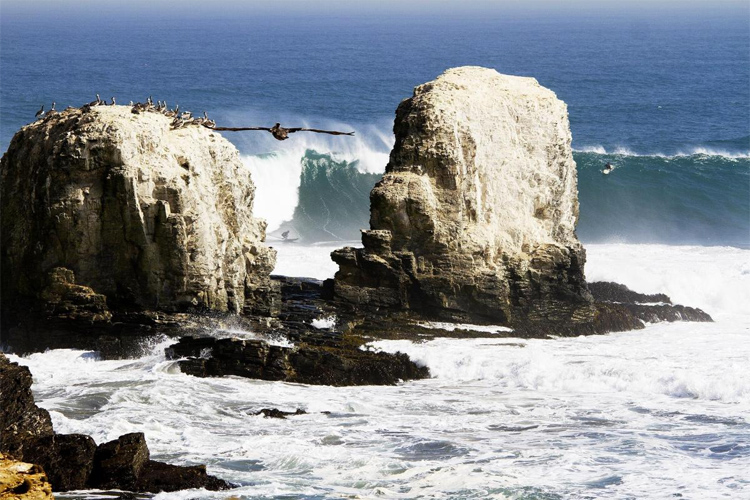 Punta de Lobos: Chile's notorious big wave surfing break | Photo: Saez/WSL
