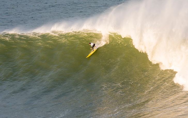 Punta Galea: confirmed in the Big Wave World Tour 2014/2015