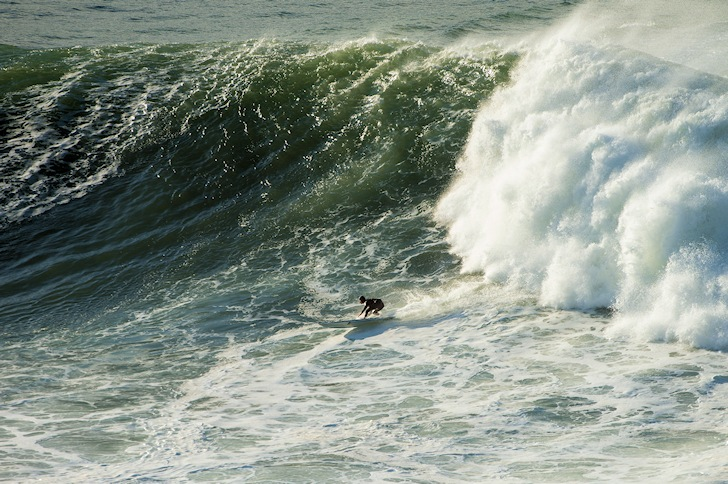 Punta Galea: when bottom turns are tough challenges | Photo: BWWT