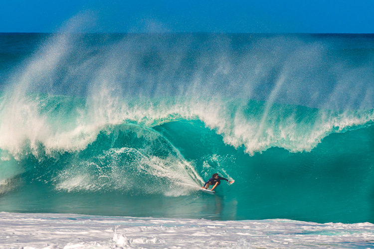 The day I discovered the Pupukea surf