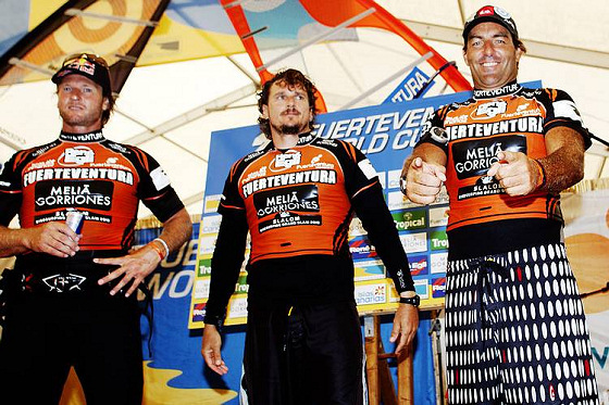 PWA Fuerteventura: the usual suspects