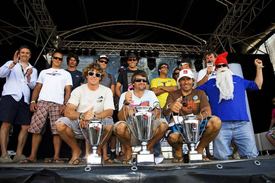 Ross Willliams conquers the 2009 PWA Podersdorf