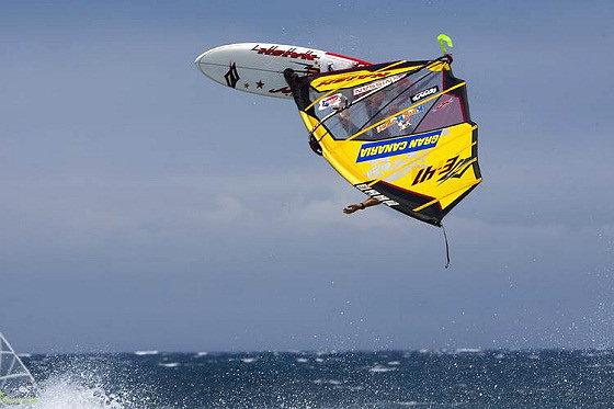 PWA Gran Canaria: wind makes these things happen