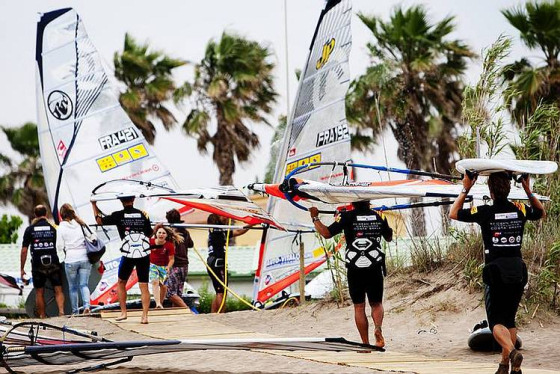 PWA World Tour: sails are back