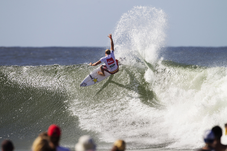 Quiksilver Pro Gold Coast: Bede Durbidge is out due to injury | Photo: Quiksliver