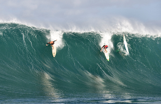 Quiksilver In Memory of Eddie Aikau: vertical drop time