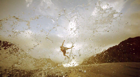 Quiksilver Moments: slow motion attitude