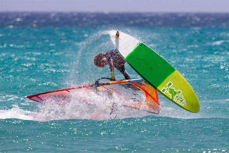 Sarah-Quita Offringa: the undisputed queen of freestyle windsurfing | Photo: Carter/PWA